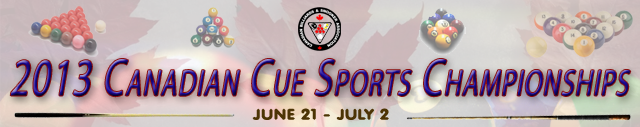 2013 Canadian Cue Sports Championships