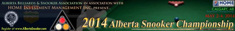 2014 Alberta Snooker Championship